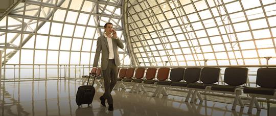 空港での出入国:バナー