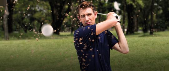 ゴルフ天国ならではの特典:バナー